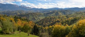 500px Photo ID: 125771283 - A panorama taken from the beautiful village Pestera from Brasov county.