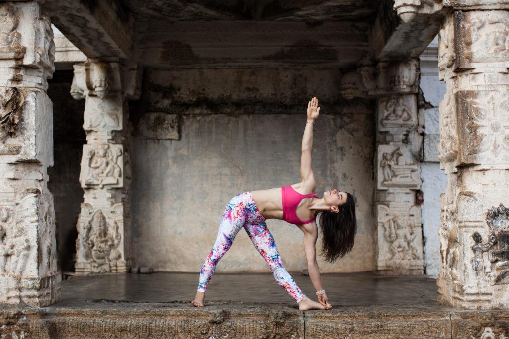 Masha Kovacs Yoga Triangle